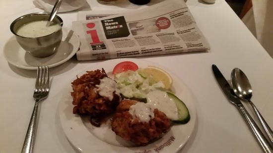 Millbank Spice: Onion Bhajis are a good size!