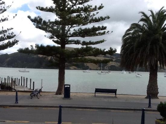 Akaroa Restaurant and Bar: Akaroa harbor, East side of South Island, New Zealand
