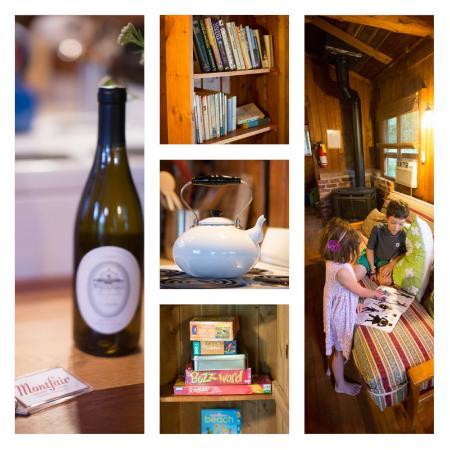 Crozet, فيرجينيا: Cozy books, games for a rainy day