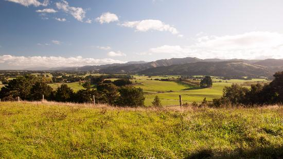 Carterton, Neuseeland: Valley view from top