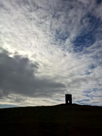 Buxton, UK: Clouds over solomons temple
