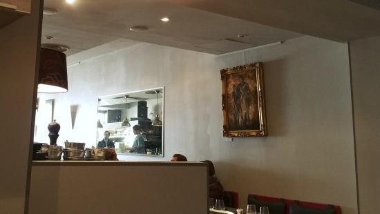 Cafe Mercier: Cadre tranquille