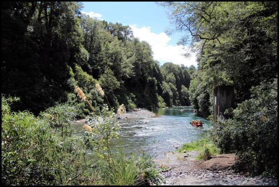 Rafting New Zealand Bild