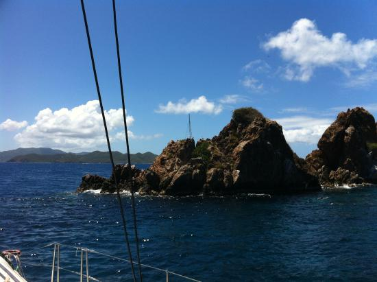 Road Town, Tortola: Snorkeling around The Indians