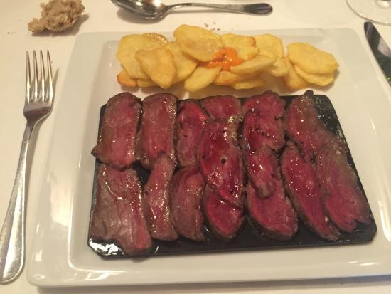 Sant Julia De Vilatorta, Hiszpania: Segundo plato del menú