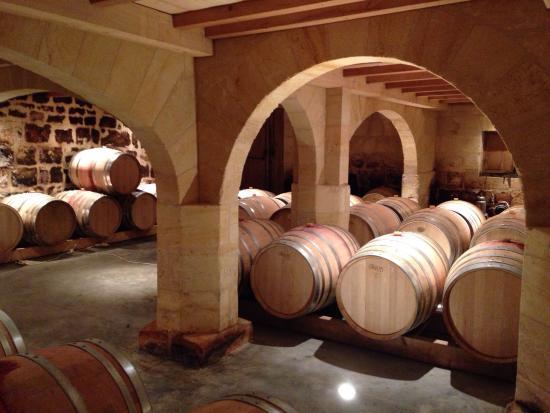Puisseguin, Γαλλία: Une belle visite du château