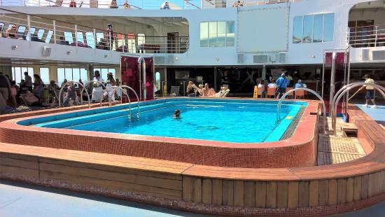 "Discovery Cruise Bahamas : On board the ""Grand Celebration Cruise."""