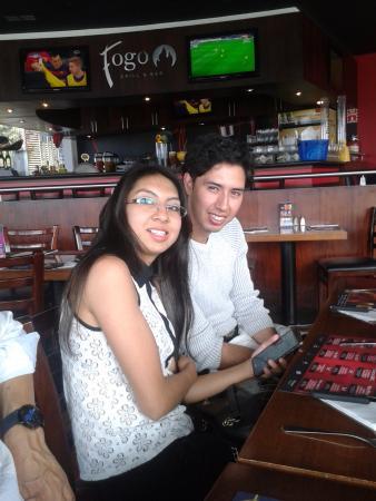 Fogo Grill & Bar: En el cumpleaños del Ing. Jaime Pulla