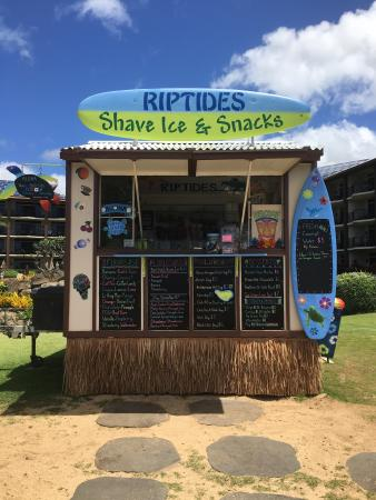 RipTides Shave Ice & Snacks: The New & Improved RipTides