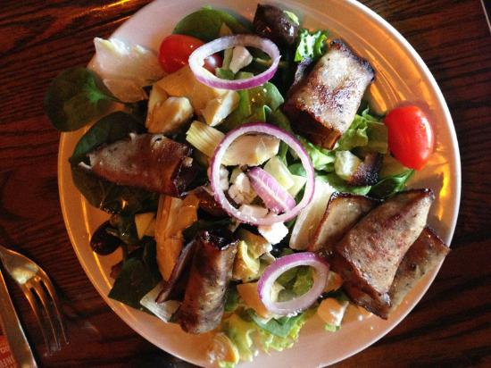Niwot Tavern: Half Greek Salad with Gyro Meat