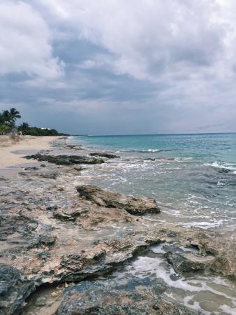 Sand Castle on the Beach Photo