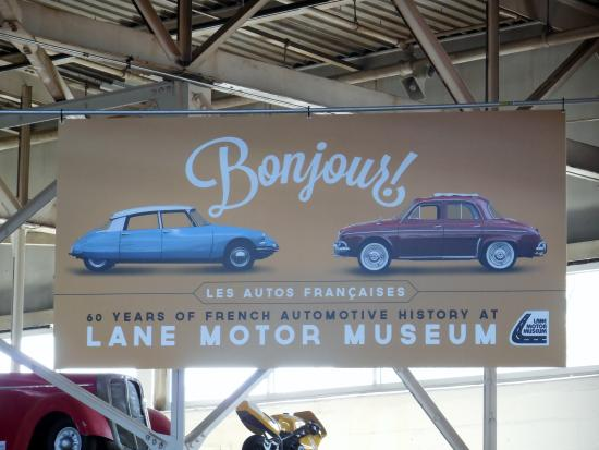 Lane Motor Museum Entrance Lane Motor Museum