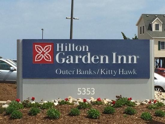 This Is Our View Picture Of Hilton Garden Inn Outer Banks Kitty Hawk Kitty Hawk Tripadvisor