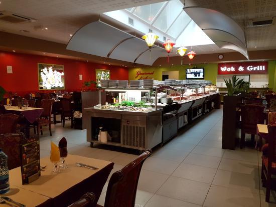 Gourmet d'Asie: buffet