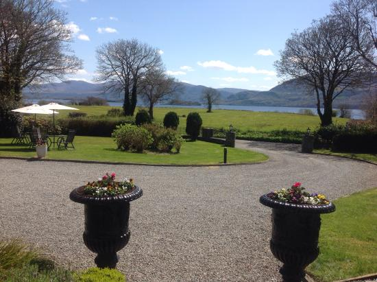 Loch Lein Country House: View from Front Door