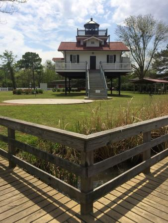 Plymouth, NC: Lighthouse from the Boardwalk