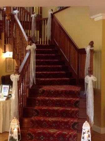 Loch Lein Country House: Stairway