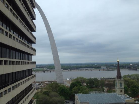 Drury Plaza Hotel St Louis At The Arch View From Room 1030