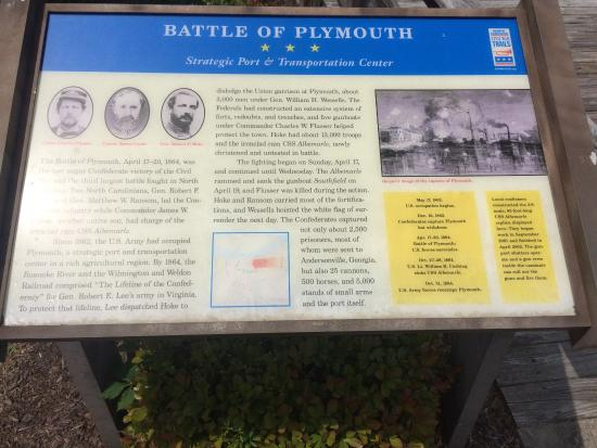 Port O'Plymouth Museum : Marker