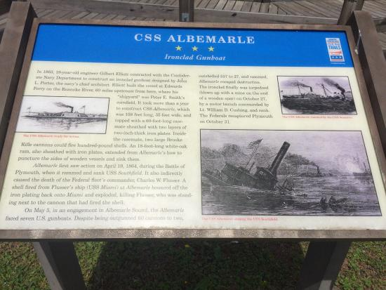 Plymouth, Kuzey Carolina: History of the Ironclad