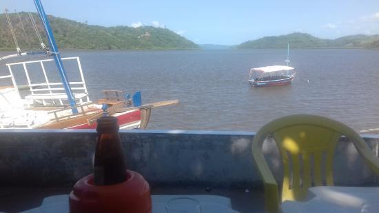 Cabaceiras do Paraguacu, BA: Vista do restaurante em Coqueiro