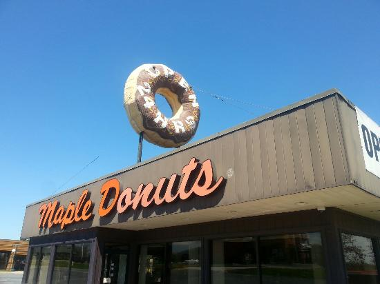 Etters, Pensilvania: Maple Donut entrance
