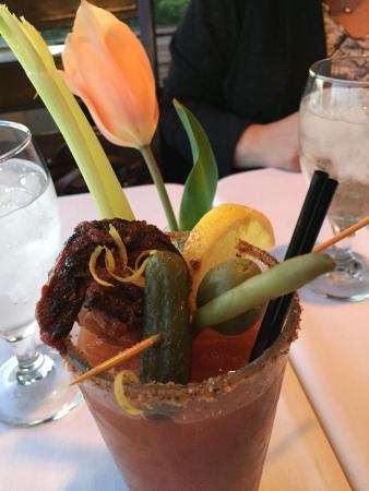 Bow, WA: The Manor Prawn Bloody Mary