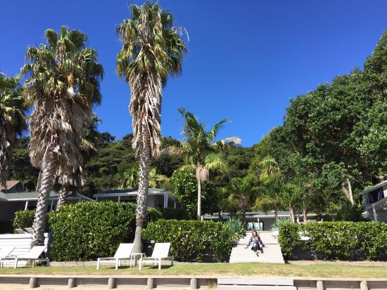 Kawau Island, Nowa Zelandia: A very special few days on the beach front. A luxury resort and secluded retreat. Five star food