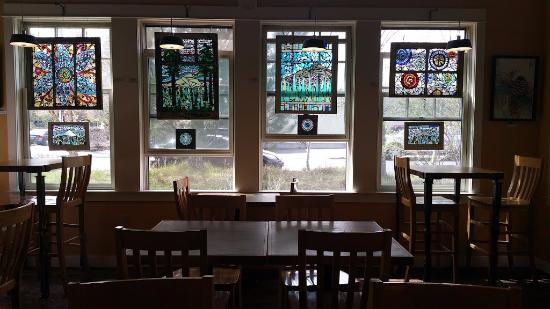 Stained Glass Decor Picture Of Nancy P S Cafe Bakery Bend