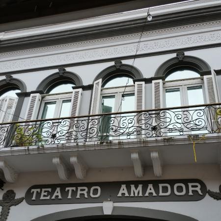 Teatro Amador: beautiful architecture