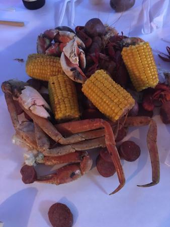 Crazy Cajun Seafood Restaurant: Seafood boil