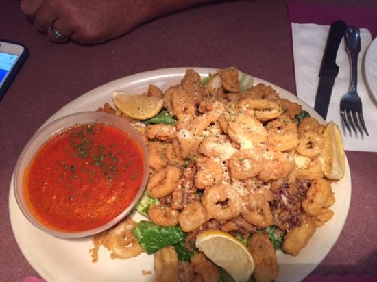 Corelli S Italian Restaurant Fried Calamari