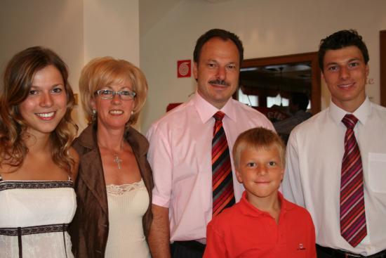 Gartenresidence Stephanie: Familie Plattner- Famiglia Plattner