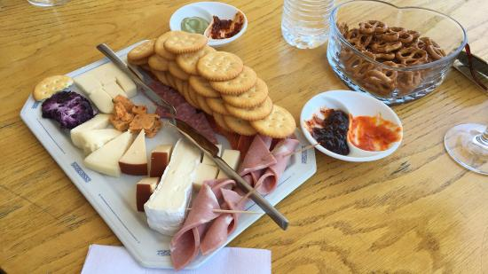 Purcellville, VA: Cheese Plate.