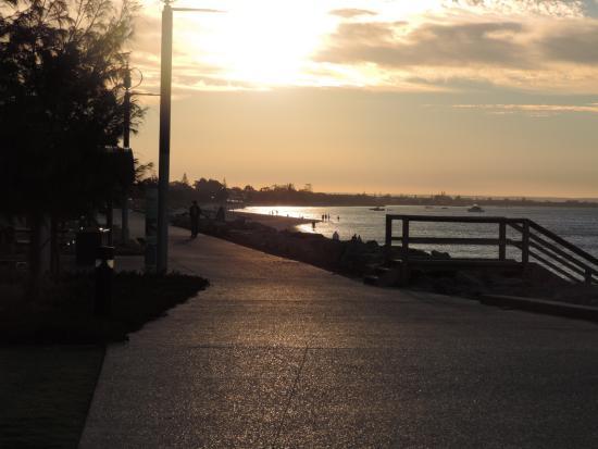 beautiful sunset at Busselton Jetty