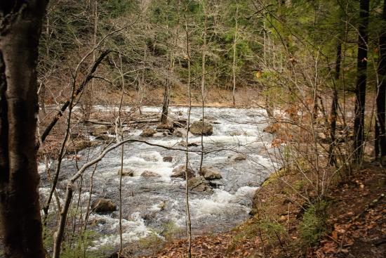 Bristol, Nueva Hampshire: The river to the falls