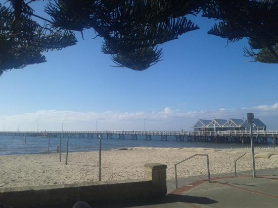 Busselton, Australia: view of jetty from the beach