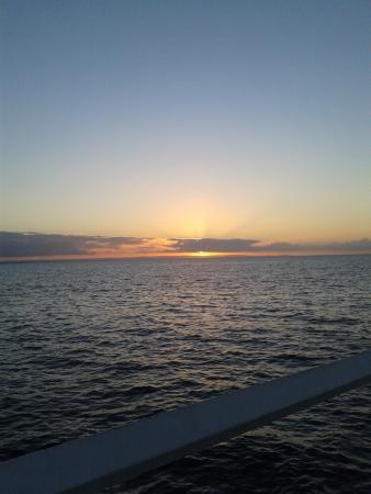 Busselton, Australia: sunset view from jetty