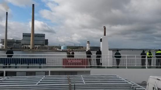 Kilrush, Ιρλανδία: the upper deck