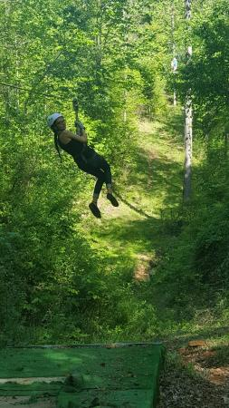 Richland Creek Canopy Tours: 20160424_162426_large.jpg
