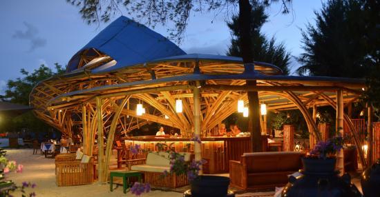 Villa Almarik Resort Lombok: Bamboo Restaurant