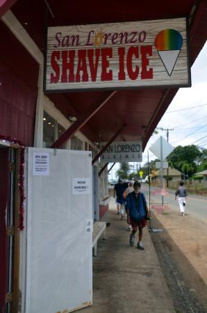 San Lorenzo Shave Ice