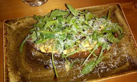 Reykholt, Islândia: Bruschetta champignons chez Mika