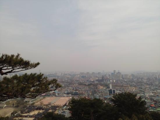 Suwon, Corea del Sur: วิวเมืองซูวอน