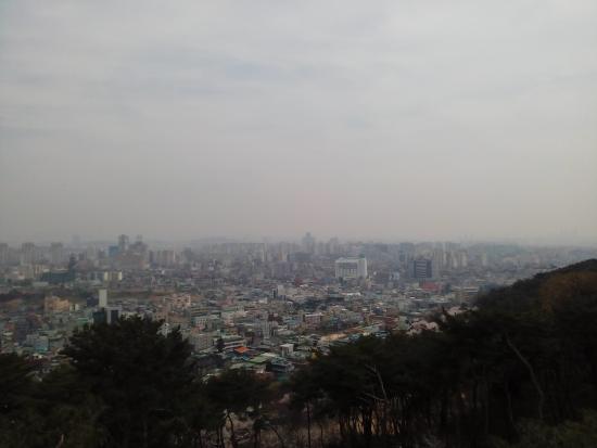 Suwon, Corea del Sur: วิวเมือง