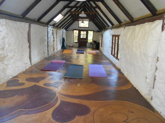 Nature's Valley, Sudáfrica: yoga room