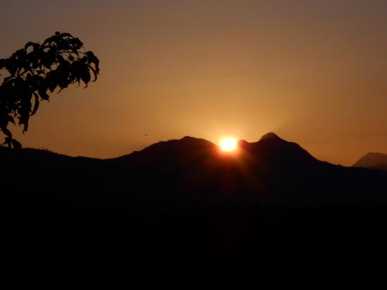 Nature's Valley, Sudáfrica: sunrise from the balcony
