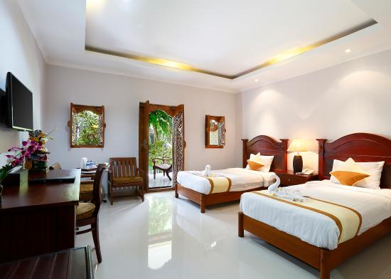 Vila Shanti Beach Hotel: Superior Twin