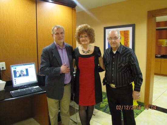 Fairfield Inn & Suites Nashville at Opryland: Leo, Sylvia. Gerald