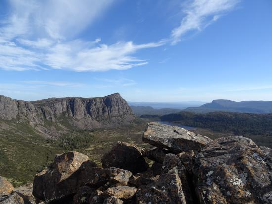 Invermay, Australia: The view from The Temple summit.